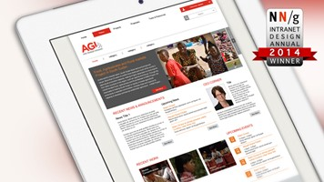 Abt Associates win Nielsen Norman Best Intranet Design Award 2014