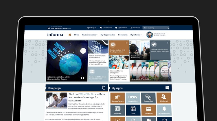 Informa invests in Unily intranet to boost global connectivity and engagement for 7,500 colleagues
