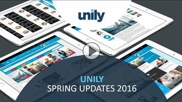Webinar Recording - Unily Spring Updates