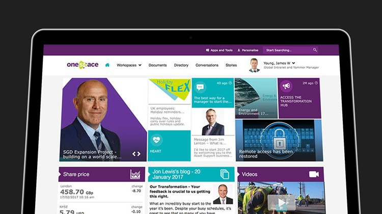 Leadership lessons: how Amec Foster Wheeler engineered a successful intranet launch