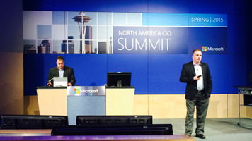 BrightStarr presents Unily cloud Intranet at Microsoft CIO Summit