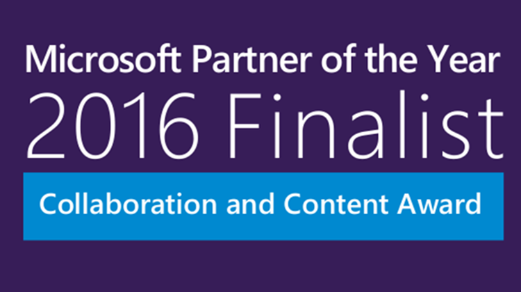 BrightStarr finalist for 2016 Microsoft Partner of the Year Award!