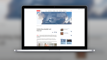 VELUX Group's Office 365 Intranet