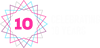 BrightStarr 10 years celebration logo
