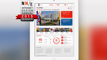 ConocoPhillips Win Nielsen Norman Best Intranet Design Award 2015